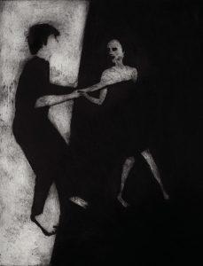 Danse du Bord - 65x50cm