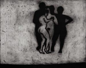 Nus Dansant - 65x50cm