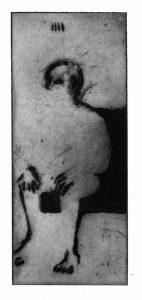 "Tarot 4 - ""Empereur"" - 10x24cm"